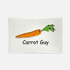 Carrot Guy Rectangle Magnet (10 pack)