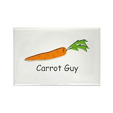 Carrot Guy Rectangle Magnet