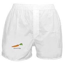 Carrot Guy Boxer Shorts