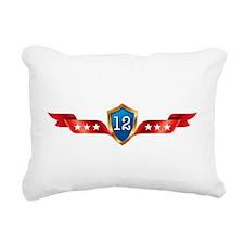 ObamaLetsDoItAgainWhite Rectangular Canvas Pillow