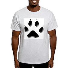Wolf Track Ash Grey T-Shirt