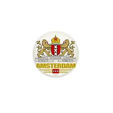 Amsterdam COA (Flag 10) Mini Button