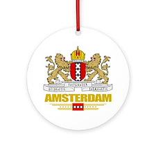 Amsterdam COA (Flag 10) Round Ornament