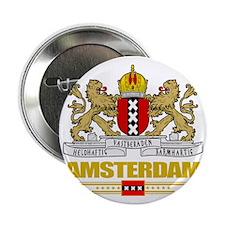 """Amsterdam COA (Flag 10) 2.25"""" Button"""