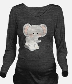 tt-elephant Long Sleeve Maternity T-Shirt