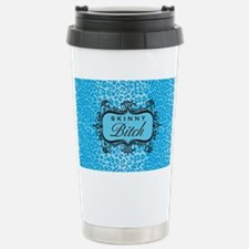 LaptopSkinSkinnyBitchBluepng Travel Mug