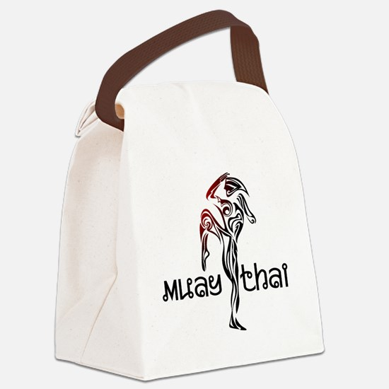 Muay Thai Canvas Lunch Bag