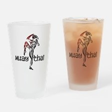 Muay Thai Drinking Glass