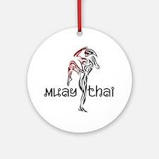 Muay Thai Round Ornament