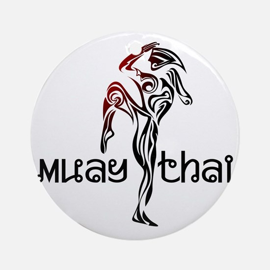 Muay Thai Round Ornament
