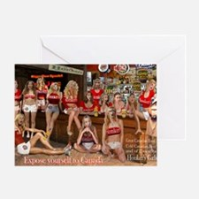 Expose yourself Greeting Card