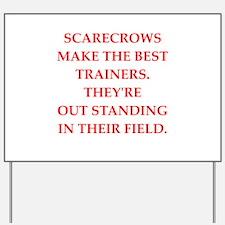 trainer Yard Sign