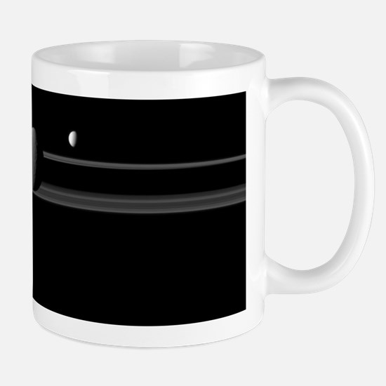 Moons of Saturn Mug