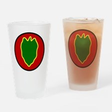 24th InfantryDivision Drinking Glass