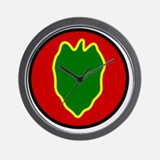 24th InfantryDivision Wall Clock