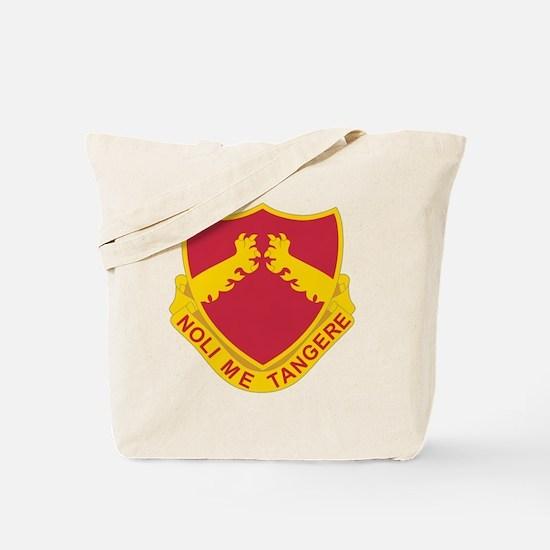 321 Field Artillery Tote Bag