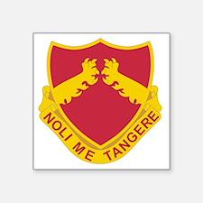 """321 Field Artillery Square Sticker 3"""" x 3"""""""