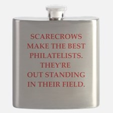 philatelist Flask