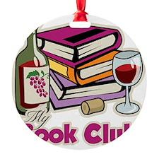 Wine-My-Book-Club Ornament