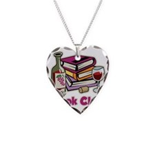 Wine-My-Book-Club Necklace