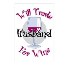 Will-Trade-Husband-for-Wi Postcards (Package of 8)