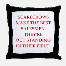 sales Throw Pillow