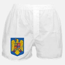 Romanian Coat of Arms Boxer Shorts