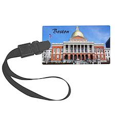 Boston_2x3_magnet_massachusetts_ Luggage Tag