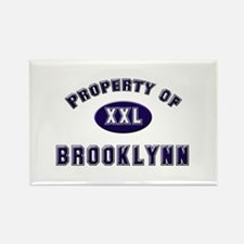 Property of brooklynn Rectangle Magnet