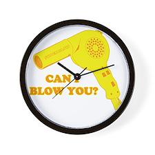 CanIBlowYou Wall Clock