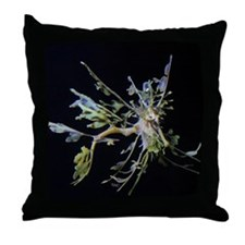 Leafyflies Throw Pillow