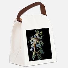Leaf-see the shrimp Canvas Lunch Bag