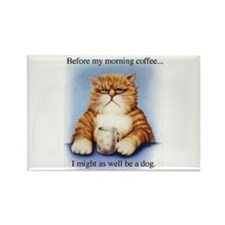 Coffee Rectangle Magnet (10 pack)