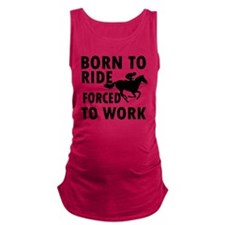 ride-horse Maternity Tank Top