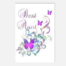Best Aunt Postcards (Package of 8)