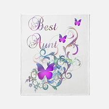 Best Aunt Throw Blanket