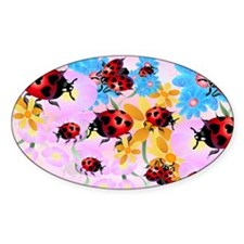 Yard Sigh-Lucky Love-Ladybug Decal
