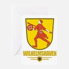 Wilhelmshaven COA Greeting Card