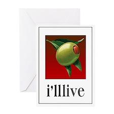 Ill_live_5x7 Greeting Card