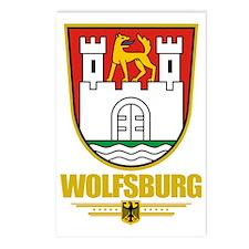 Wolfsburg COA Postcards (Package of 8)