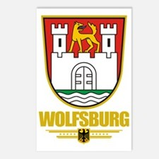 Wolfsburg COA Postcards (Package of 8)