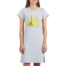 Im Rockin Yellow for my Daughte Women's Nightshirt