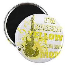 Im Rockin Yellow for my Mom Magnet