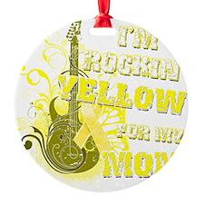 Im Rockin Yellow for my Mom Ornament