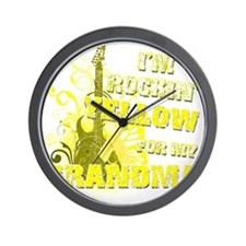 Im Rockin Yellow for my Grandma Wall Clock