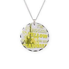 Im Rockin Yellow for my Gran Necklace Circle Charm