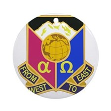 DUI - 902ND CONTINGENCY CONTRACTING Round Ornament