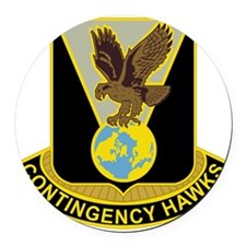 DUI - 900TH CONTINGENCY CONTRACTI Round Car Magnet