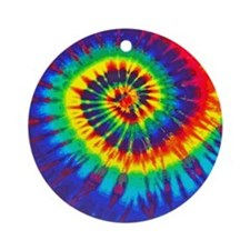 Bright iPad Round Ornament