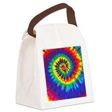 Bright iPad Canvas Lunch Bag